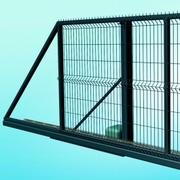 AUTOMATICKÁ POSUVNÁ BRÁNA EGIDIA® 3D - levá, zelená, 1530 mm