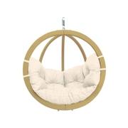 Velké závěsné křeslo - Globo chair natura