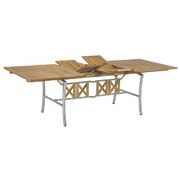 Rozkládací stůl z teaku Lake John
