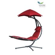 Vivere Original Dream Chair závěsné houpací lehátko, červená