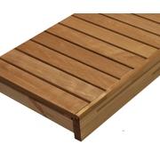 Lavice do sauny - Termo olše - 60x160cm