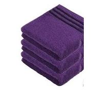 Ručník do sauny fialový - lila 50x85 cm
