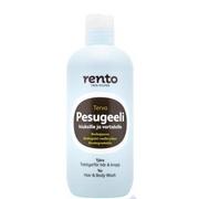 Rento šampon a sprchový gel l po saunování dehet, 350 ml
