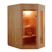 FRANCE SAUNA Zen 3-4 finská sauna pro tři až čtyři osoby
