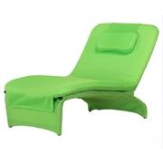 Masážní lehátko HANSCRAFT ZERO - zelené