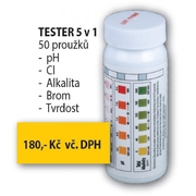 Testovací proužky 5v1