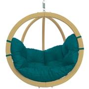 Velké závěsné křeslo - Globo chair green weatherproof