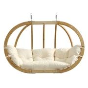 Velké závěsné křeslo - Globo royal chair natura
