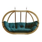 Velké závěsné křeslo - Globo royal chair green
