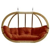 Velké závěsné křeslo - Globo royal chair terracotta