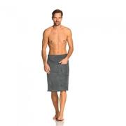 Kilt do sauny THILO pánský - ŠEDÁ, 80x145cm