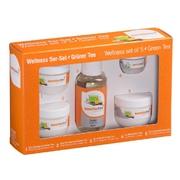Wellness set doplňků a kosmetiky - Zelený čaj