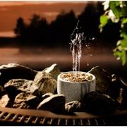 Tříproudá fontánka do sauny Saunatroikka