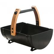 Ocelové vědro s dřevěným madlem HARVIA Legend 8 l