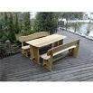 Zahradní nábytek z akátového dřeva